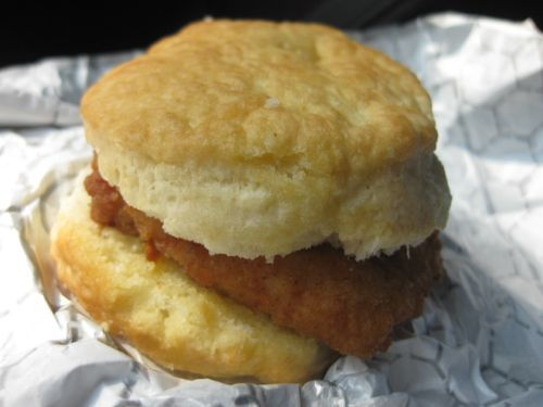GrubGrade | Fast Food Review: Chicken Biscuit from Chick-fil-A