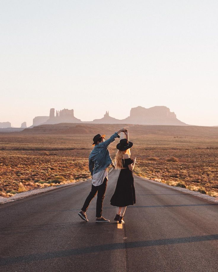 "kodiakstag: "" Always loved photographing romance, never really thought I'd photograph my own. Slow dances at sunset with @kjpinc ✨ (at Monument Valley, Arizona/Utah) """