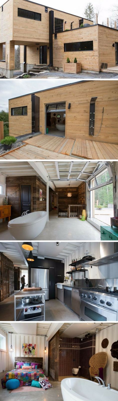 312 best Conteneurs images on Pinterest Architecture, Projects and - idee entree de maison