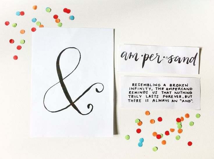 """Awaiting The Aftertaste / """"&"""" Ampersand Quote / Nothing Lasts Forever / The Happy Candle #quote #lettering #infinity"""