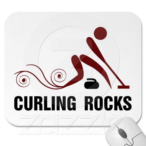 Curling Rocks Mousepad