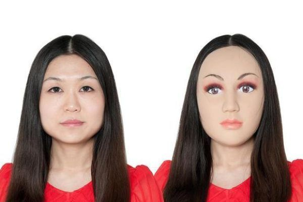 Всяка жена   красавица   silikonova maska lice 01