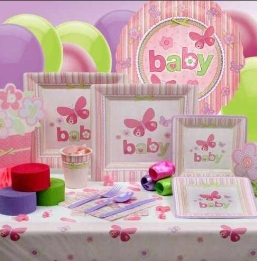 Baby shower ideas for girl #green/pink/purple