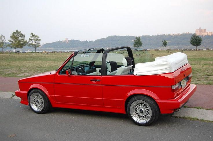 Volkswagen golf cabriolet 1990