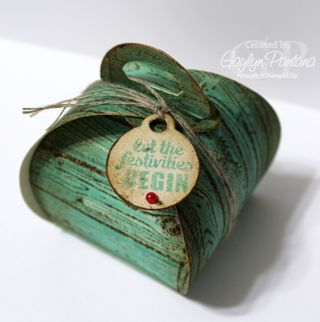 Unfrogettable Stamping | Curvy Keepsakes Favor Box by Gaylyn Pantana