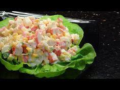 Elle Prépare Une Salade Fraîcheur Avec Du Crabe En Seulement 10 minutes… Un Pur Délice ! »