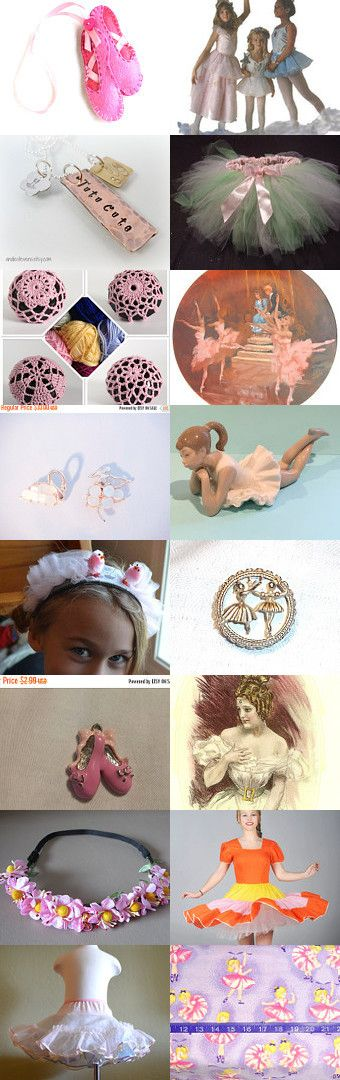 Little ballet girl by Annelies Knijnenburg on Etsy--Pinned+with+TreasuryPin.com