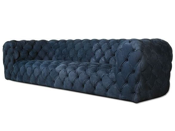 Tufted Nabuk sofa CHESTER MOON by BAXTER | design Paola Navone