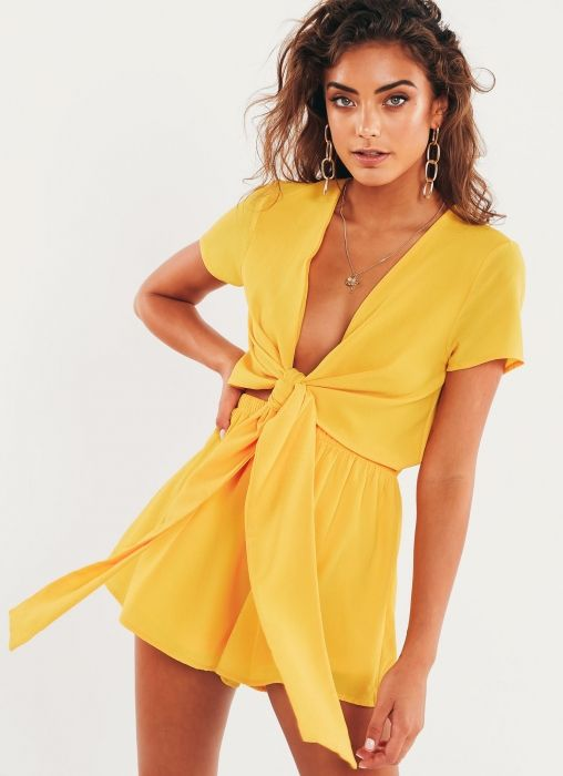 07aed08b4db Lucid Playsuit - Yellow