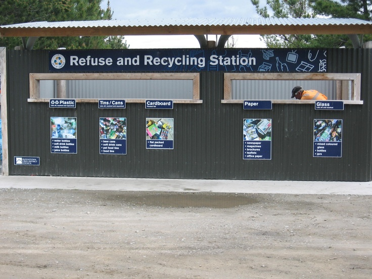 Hawea Drop off signage