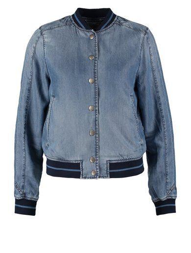 Diesel JELLIB  Kurtka jeansowa blue denim