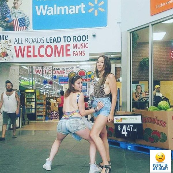 "Join 12 people right now at ""Twerk For Bonaroo - People Of Walmart : People Of Walmart"""