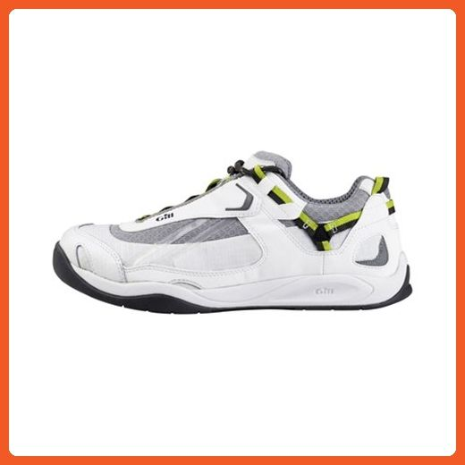 Gill Deck Tech Race Trainer (42, White/Lime) - Sneakers for women