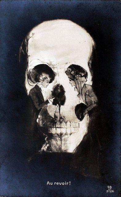 1280x1024 skull optical illusion - photo #1