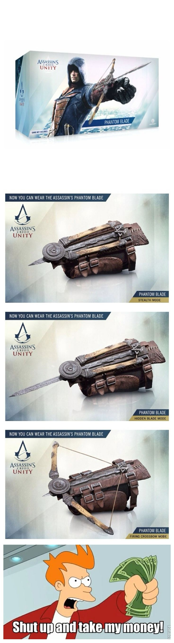 Assassin's creed unity (phantom blade)