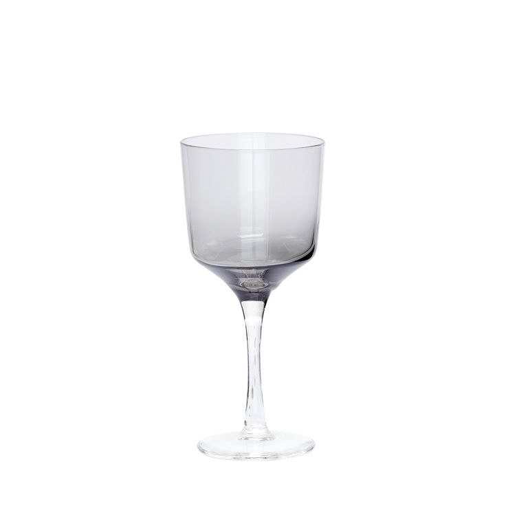 Grey white wine glass. Product number: 480302 - Designed by Hübsch