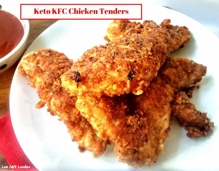 Keto KFC Chicken Tenders - by Low Carb Lovelies