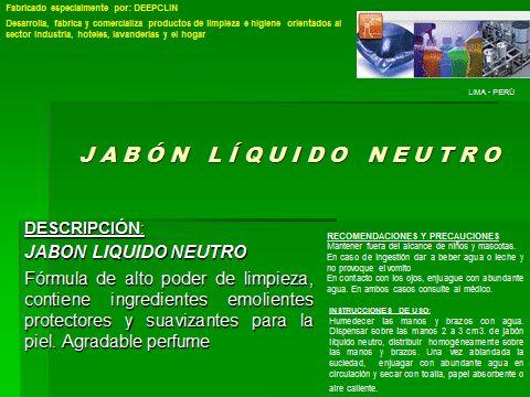 JABON LIQUIDO NEUTRO