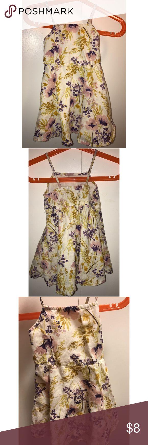 12-18 Months Old Navy Dress Mustard floral summer dress Old Navy Dresses Casual