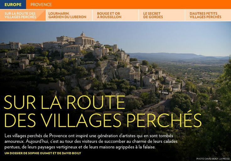 Sur la route des villages perchés - La Presse+