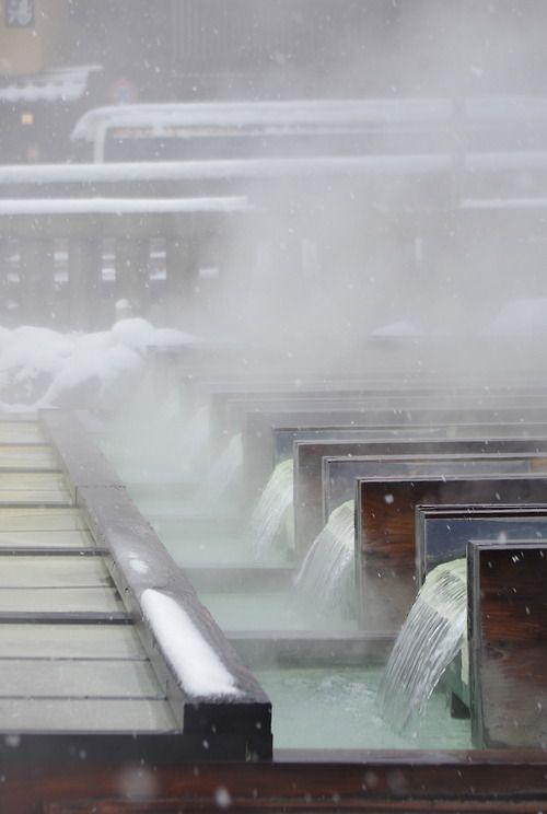 Kusatsu hot spring, Gunma, Japan 草津温泉