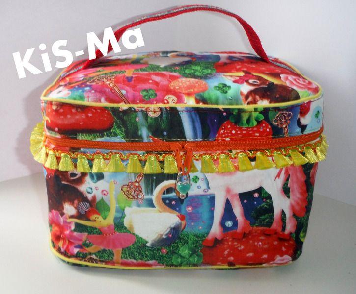 Kosmetiktasche von Fi-Ma-KiS auf DaWanda.com