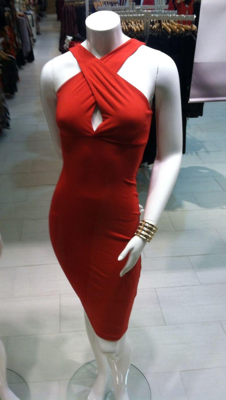 Arden b red dress velvet
