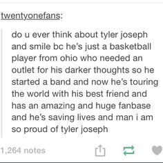 what does tyler joseph's tattoo say - Google Search