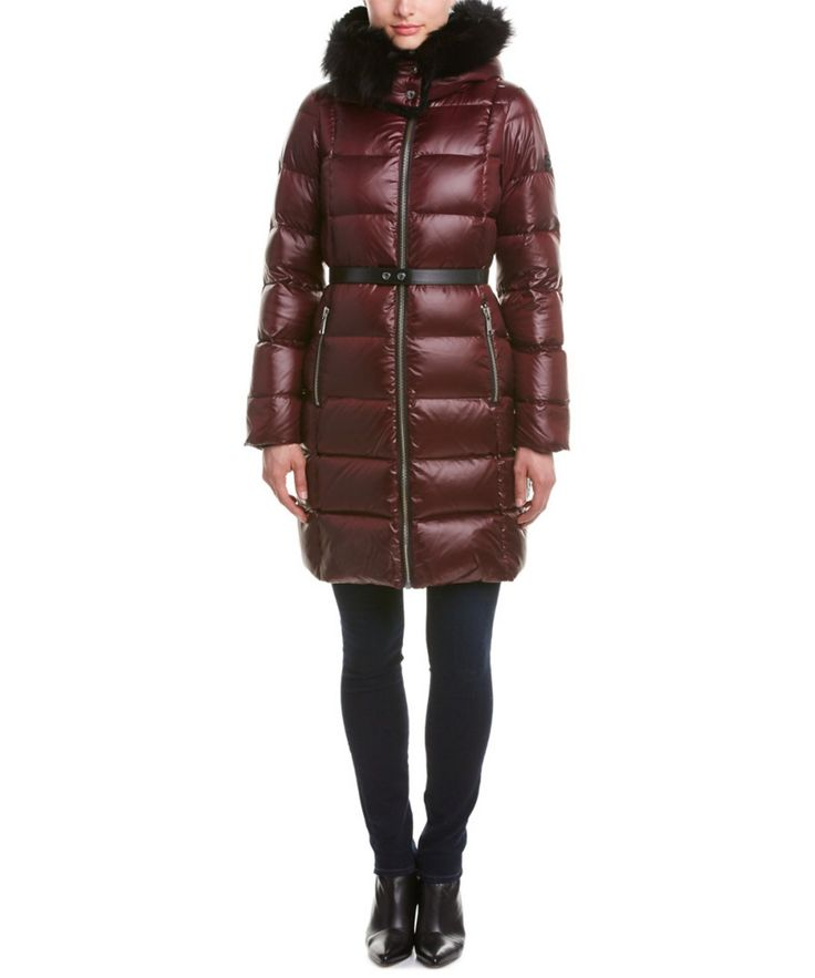 ANDREW MARC Andrew Marc Tatiana Quilted Down Coat'. #andrewmarc #cloth #coats