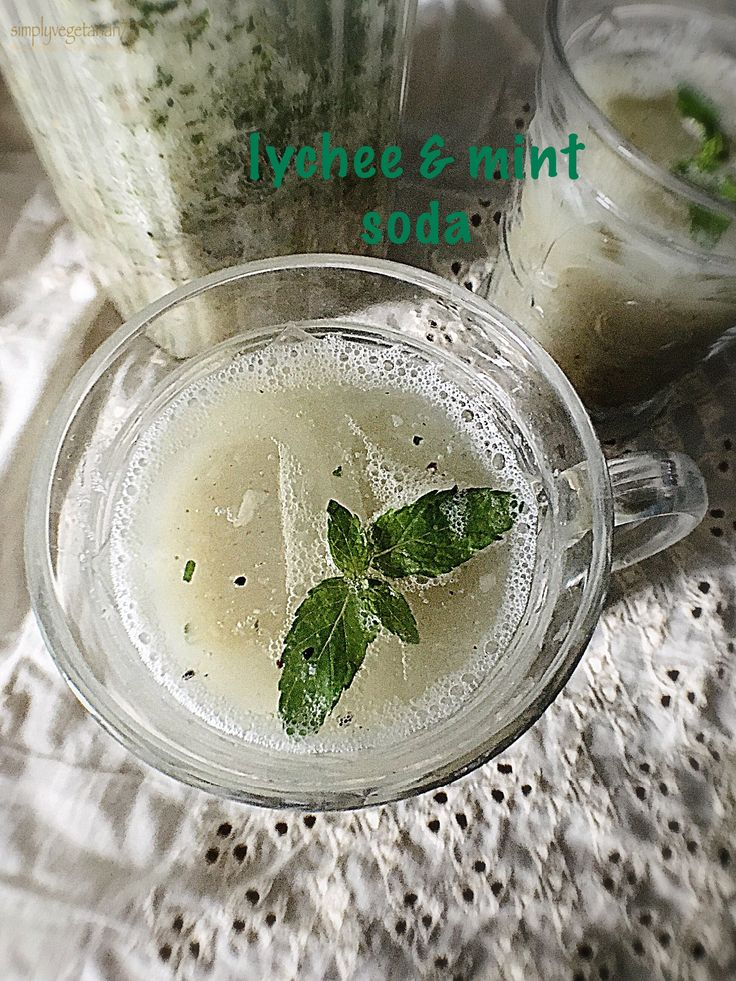 Lychee Mint Soda, lychee recipes, soda recipes, summer coolers, mint drink recipes, party drinks, how to use lychee in drinks, Indian coolers, metro drinks