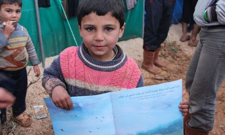 The children's book offering hope for the displaced children of Syria