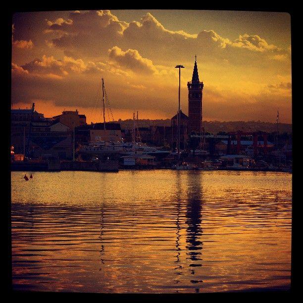 #Civitanova Marche:  #sunset