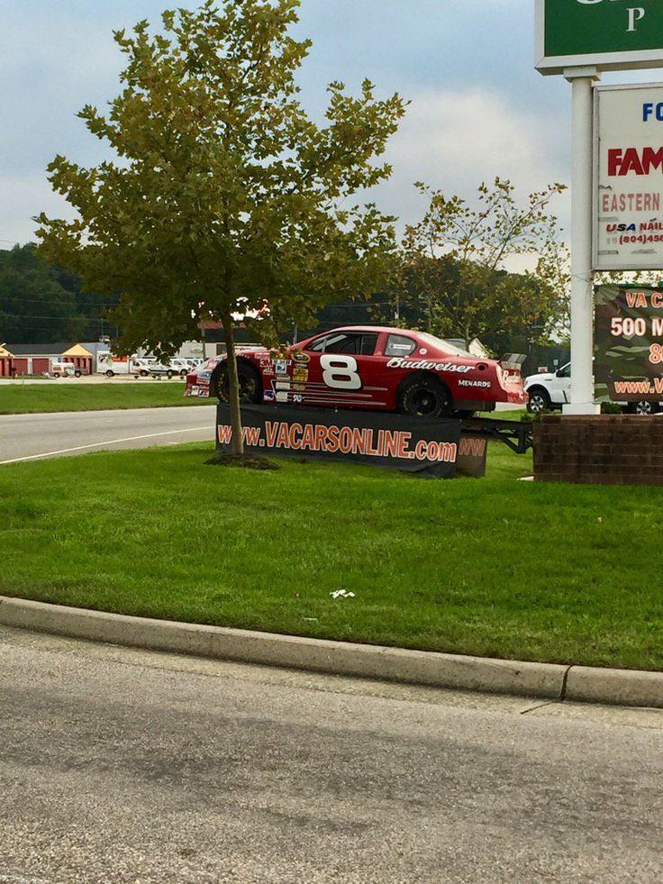 Elliott Sadler found one of Dale Jr.'s cars for sale on Oct. 2, 2016