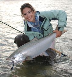 Flygal - Winter Steelhead | Vedder River Guided Fly Fishing Trips