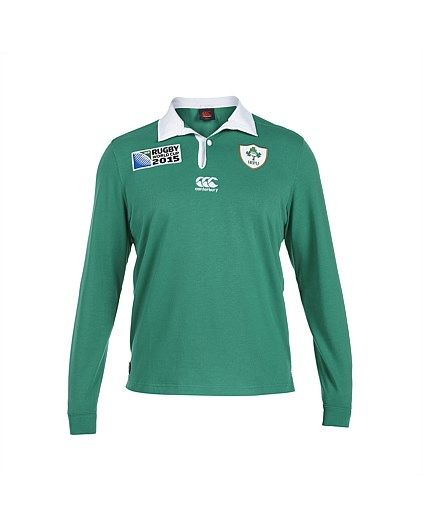 Rugby World Cup 2015 IRELAND country collection - Rugby World Cup 2015 Kids Ireland Home Classic Rugby Jersey