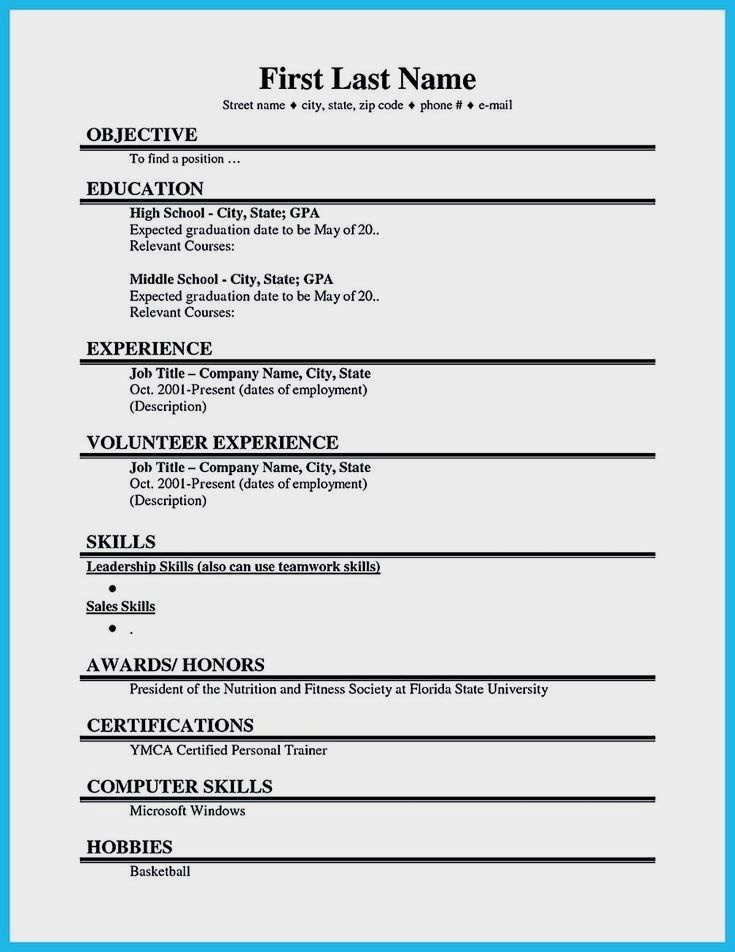 Professional Resume Example Instant Download 1 Page Resume Example For Ms Word Diy Resume Example College Resume Template Job Resume Examples Student Resume