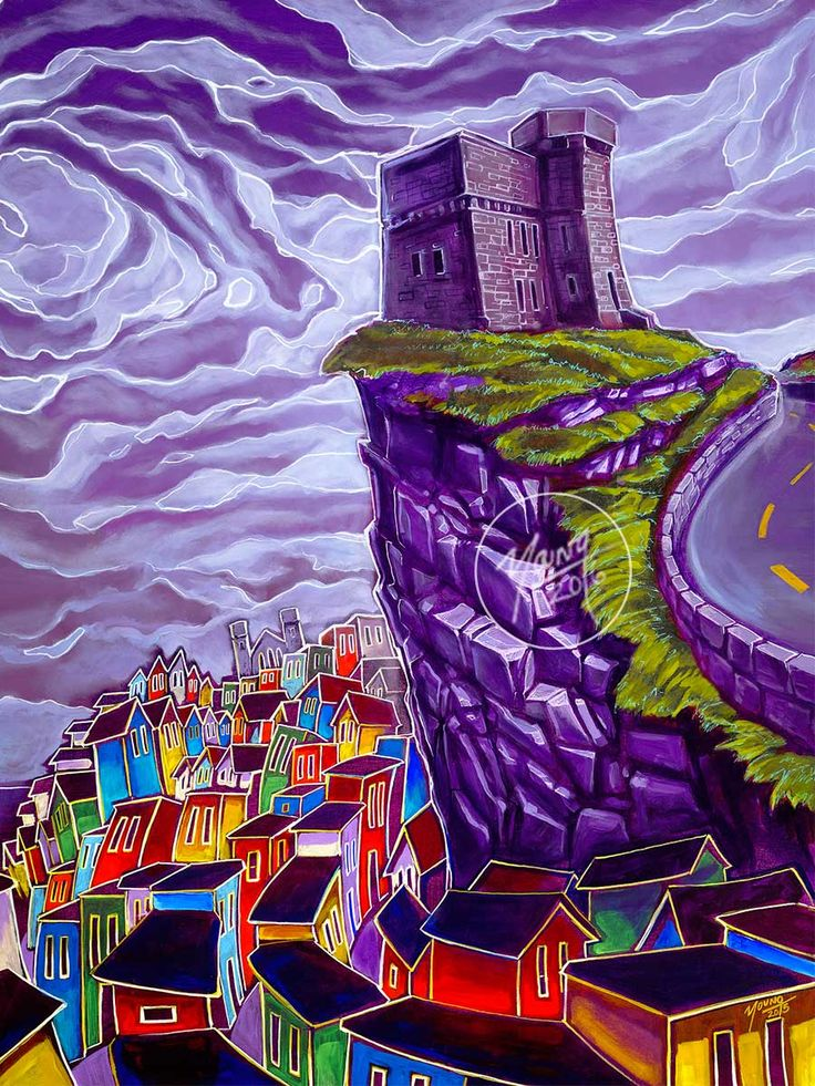 Signal Hill by Adam Young