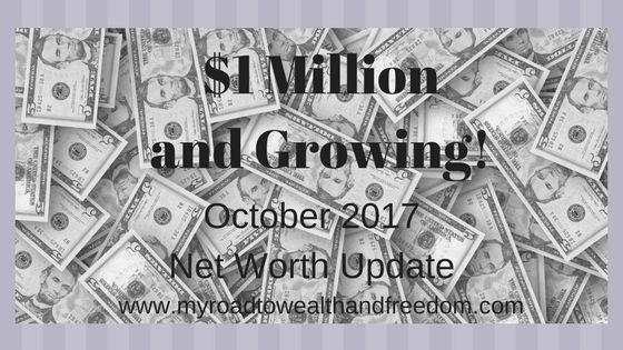 Growing the net worth beyond 1 million!