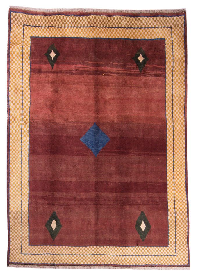 Gabbeh  Teppiche  Moderno Tappeto 235 x 212cm Rugs  orient tæppe