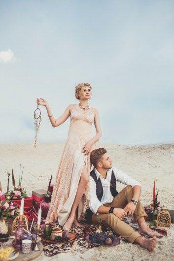 Вдохновение бохо: пикник Мэри и Максима