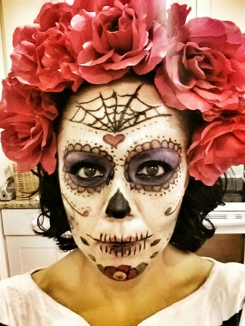 Mexican Skull Costume | Spooktacular! | Pinterest | Mexican Skulls And Zombie Makeup
