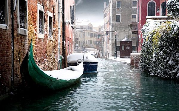 Зимняя Венеция