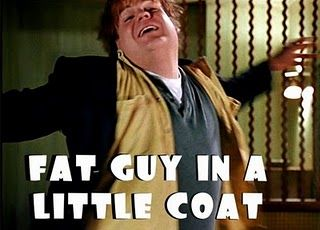 I sang this the other morning as I was trying to squeeze my pregnant but into a small coat . . . ROFL