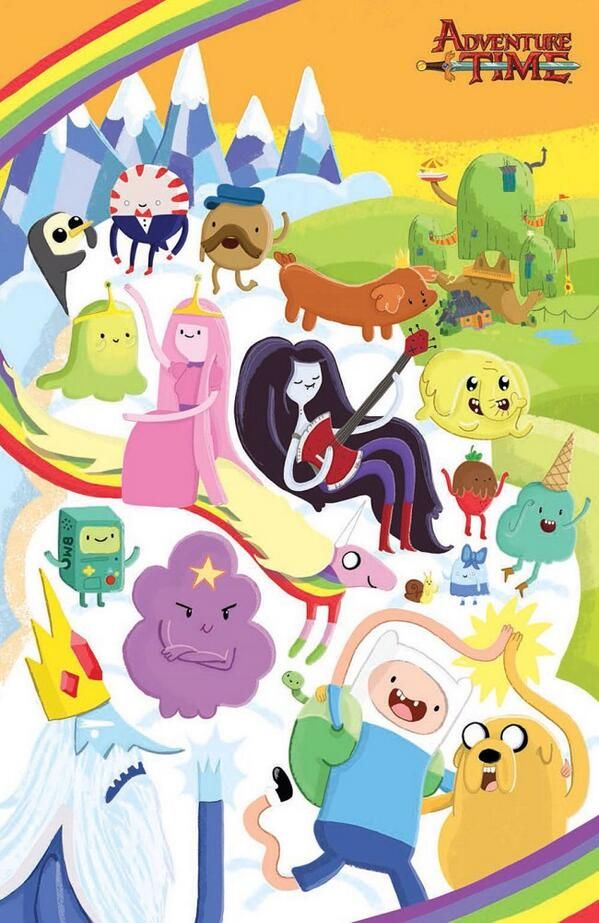 Adventure Time artwork