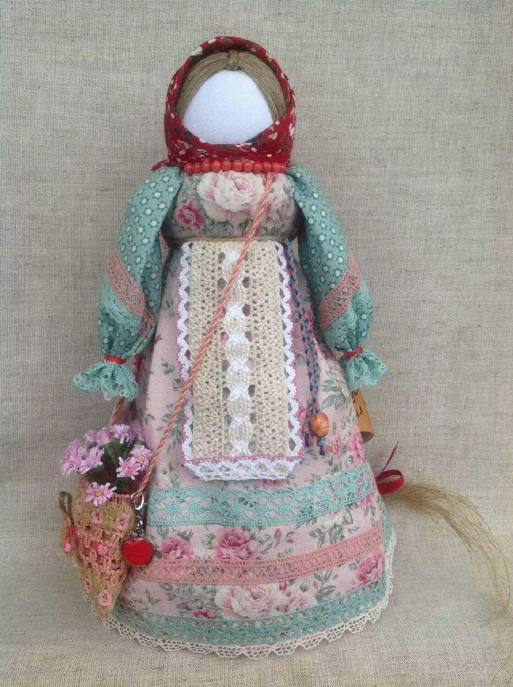 """Купить """"Успешница""""по мотивам Народной куклы - оберег, народная кукла, кукла оберег, кукла-оберег"""