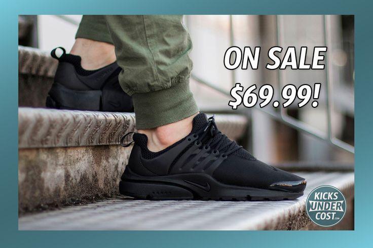 Grab the Triple Black Nike Presto for $69.99! (Retail $120)