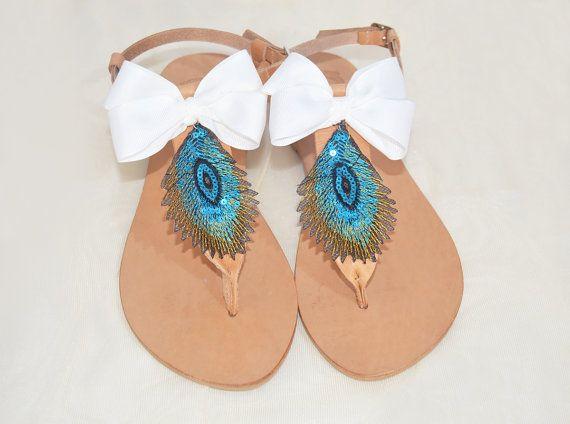 sandalias griegas sandalias de cuero sandalias boho