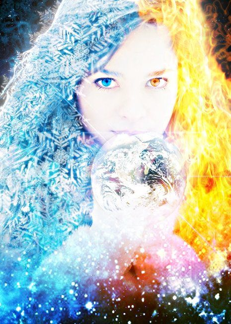 Wallpaper: Astonishing Fire And Ice Wallpapers | FIRE AND ICE | Pinterest