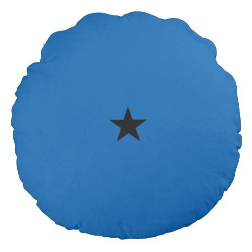 Dark one star dragon ball round pillow