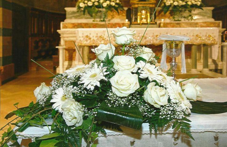 addobbi floreali per altari gerbere - Cerca con Google